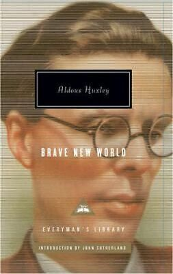 NEW Brave New World By Aldous Huxley Hardcover Free Shipping