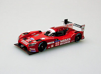 EBBRO 45255 1:43 Nissan GT-R LM NISMO Le Mans 24hours #22 Red