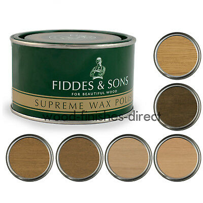Fiddes Supreme Wax Polish - FREE DELIVERY - 400ml & 5L