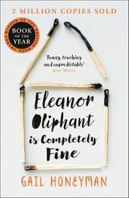 NEW Eleanor Oliphant is Completely Fine By Gail Honeyman Paperback Free Shipping