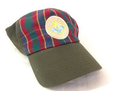 Vintage Cap Hat Boy Scout of America Size Youth M/L #A24