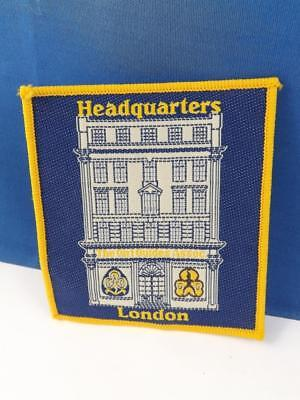 Girl Guides International Headquarters London England Patch Collector Badge