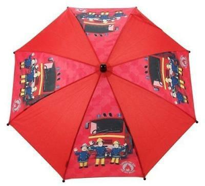 Fireman Sam Umbrella (Red) - Jupiter Fire Engine