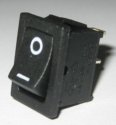 Jackson Electronics JS-606 Miniature Rocker Switch - SPST - 125V 10A - 250V 6A
