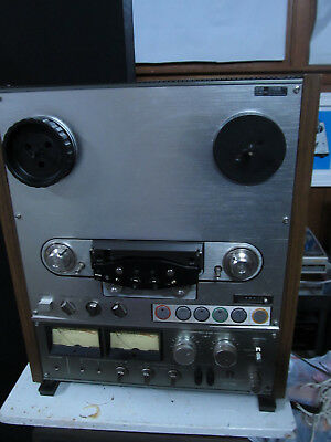 SONY TC-765 4 Track, 2 Channel Stereo Reel To Reel Tape Recorder - Needs Service
