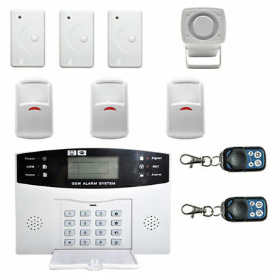 GSM+LCD+2G Wireless Smart Home Security Burglar Door Alarm System Motion
