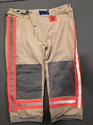 Morning Pride Firefighter Bunker Pants  New Old Stock - size 40x30