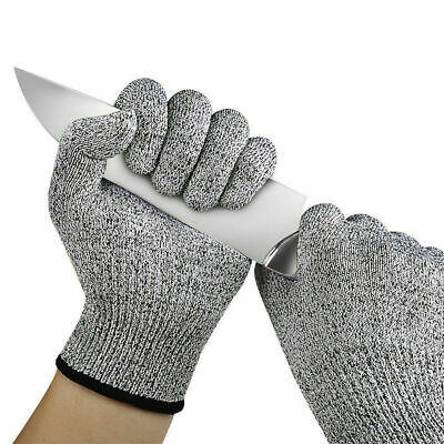 Cut Resistant Stab Proof Safety Labor Protection Work Gloves, Level 5 Protection