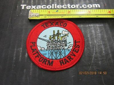 Texaco Patch # 800 Platform Harvest