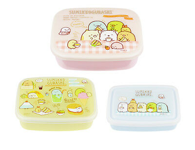 "San-X Sumikko Gurashi ""Lunch Market"" 3 x Food Containers"