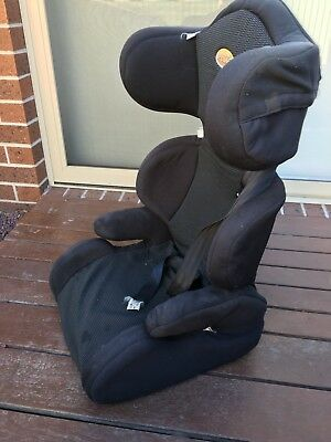 Black Secure Child booster seat