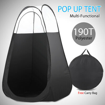 Mobile Spray Pop Up Tanning Tent Portable Tan Booth Clear Roof Washable With Bag