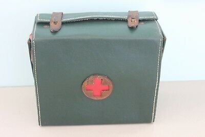 Vintage Field First Aid Kit Medical Antique