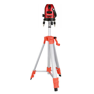 Automatic Self Leveling 5 Line 6 Point 4V1H Laser Level Measure & Tripod Stand
