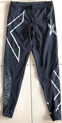 2XU WOMEN'S Compression 3/4 Length running yoga gym Tights  SIZE S