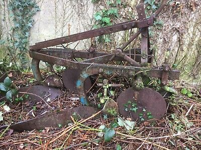 Ransomes Robin TS54A Two Furrow Plough - YL163 Boards