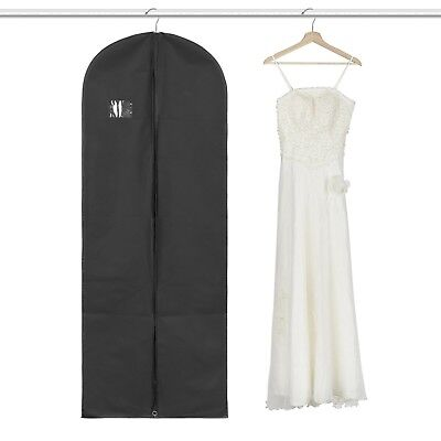 Garment Bag Suit Long Dress Garment Bag Black Robe Breath Clothes Protective New