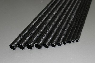 """NEW Carbon tailboom / carbon tail tube tapered 19mm-12.5mm->900mm, length 35.43"""""""