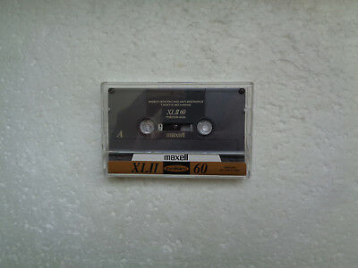 Vintage Audio Cassette MAXELL XL II 60 * Rare From 1994 * Unsealed