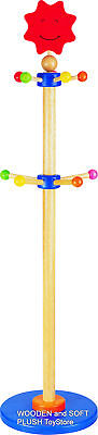 VOILA high quality wooden HAT CLOTHES STAND HANGER RACK *BRAND NEW