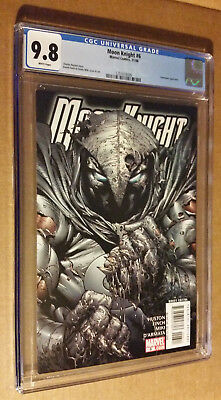 Moon Knight #6 1st Print 2006 Series HtF Great David Finch Cover CGC 9.8 NM+M