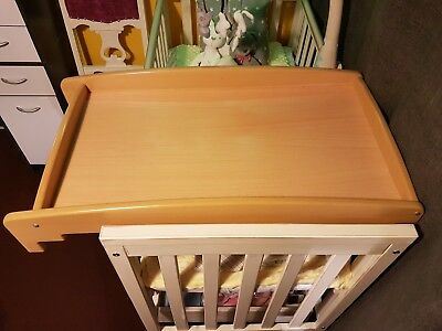 Mamas and Papas Cot Top Baby Nappy Changer