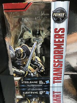Transformers The last knight Tlk Deluxe Steelbane Dragon Misb lot