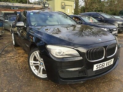 61 Bmw 740D Sport Twin Turbo Over 300 Bhp Spares Or Repair As Lights On Dash
