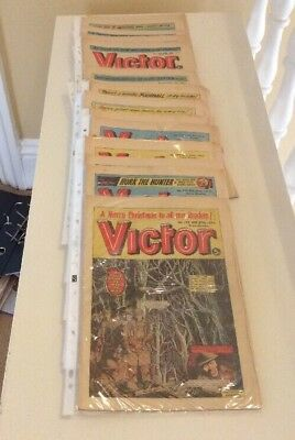 The Victor Comics Collection Of 25  Consecutive Copies 750-775