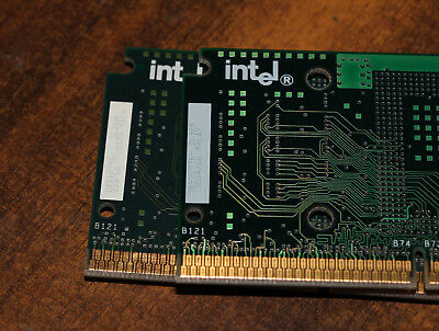 Lot of 2 Vintage Intel Celeron Processors 300A