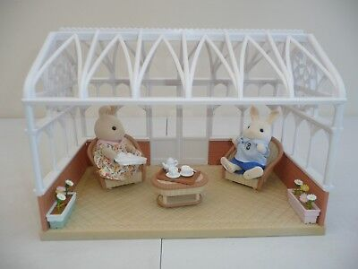 Sylvanian Families conservatory with furniture