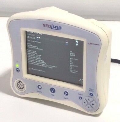 Hospira Physiometrix SEDLine EN-2 20738-04-02 Brain Function EEG Monitor
