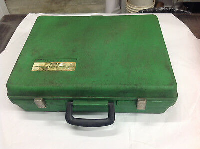 EMPTY Greenlee Hydraulic Knockout Punch Driver CASE ONLY.