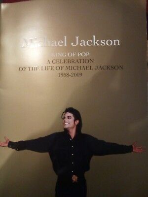 Michael Jackson Memorial Souvenir Programme and ticket