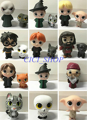 FUNKO Mystery Mini HARRY POTTER ☆Minerva McGonagall Grey Cat Dobby Snake Owl☆