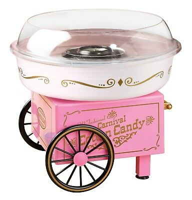 Electric Commercial Cotton Candy Maker Machine Cart Kit Vintage Store Booth NEW