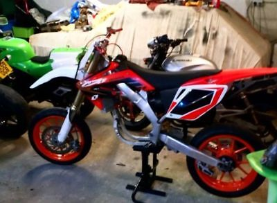2008 crf 450 supermoto project