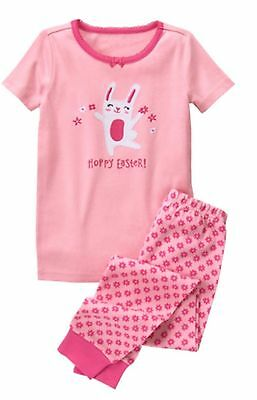 NWT Gymboree Girls Gymmies Pajamas set Bunny Hoppy Easter Manysizes Holiday