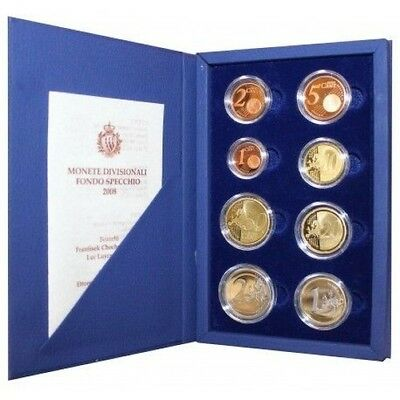 2008 San Marino Divisional Coins Proof Packaging Mf26780
