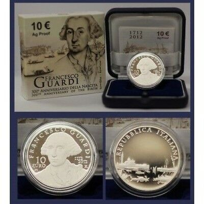 2012 Italy Coin Commemorative Francesco Watch - Ipzs - Proof Silver