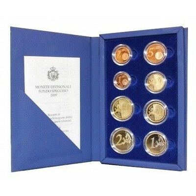 2009 San Marino Divisional Coins Proof Packaging Mf26810