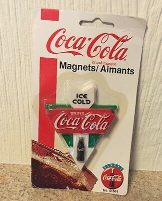Coca Cola Coke Magnet for Fridge from 1995 NIP