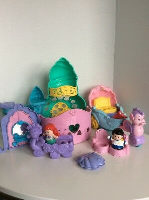 Little People DISNEY'S LITTLE MERMAID ARIEL MUSICAL Coach, Castle & Chariot