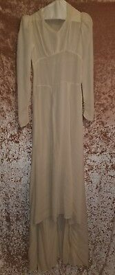 Antique Vintage Early 1900's Wedding Dress