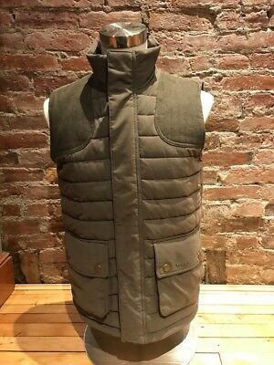NWT Men Barbour Bradford Gilet Vest Forest #MQU0888SG91