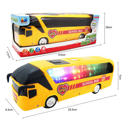 Baby Toys Luminous Musical Electric Bus Educational Developmental Kids Toy Gift