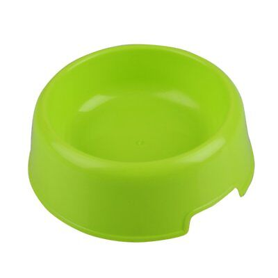 Pet Cat Dog Kitten Lovely Plastic Feed Drink Water Dish Food Dishes Bowl