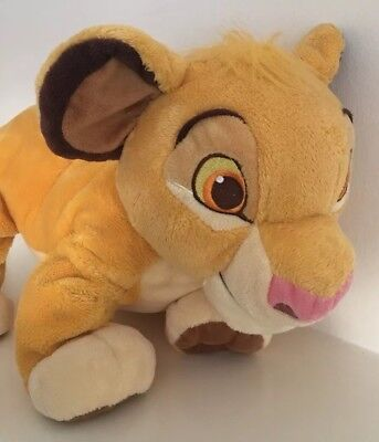 The Disney Store The Lion King Young Simba  Soft Toy