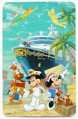 Swap Card. Disney Cruise Line. Mickey Mouse, Donald Duck, Tinkerbell, Peter Pan