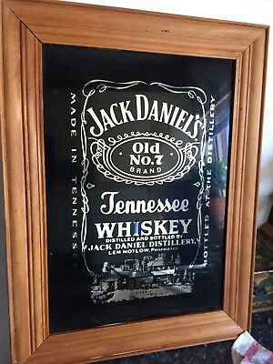 Large Jack Daniel's Bar Mirror